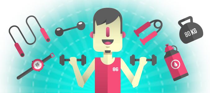 Ćwiczenie w domu, siłownia